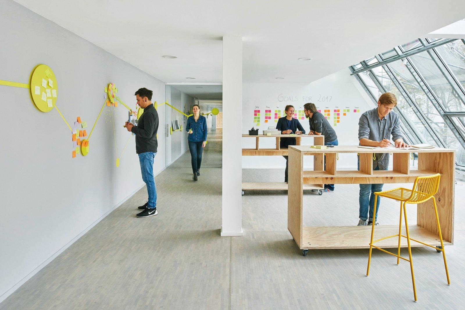 Open space moderne entreprise plateau bureau arch sign arch